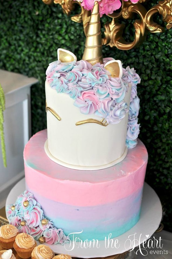 Unicorn And Rainbows Birthday Party Featured On Pretty My