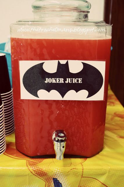 23 Incredible Batman Party Ideas Pretty My Party Party