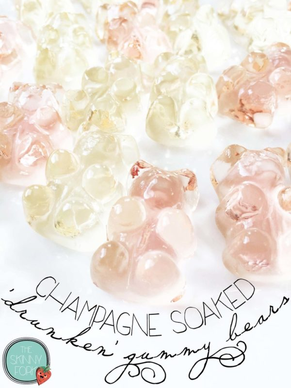 Champagne Drunken' Gummy Bears - Fun Bachelorette Party Ideas
