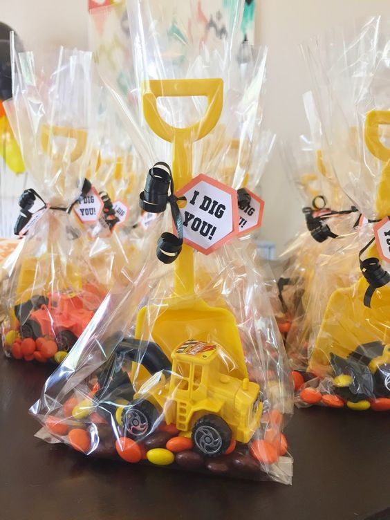 Construction Party Favors