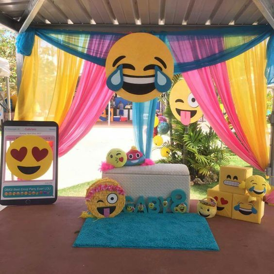 Emoji Party Decorations | Emoji Birthday Party Ideas