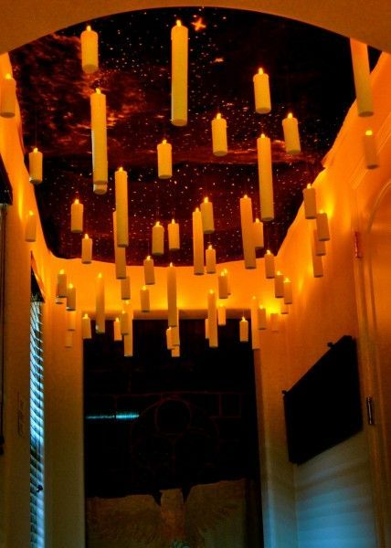 The Great Hall Decorations - Harry Potter Party Ideas