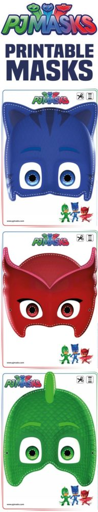 Free PJ Masks Printable