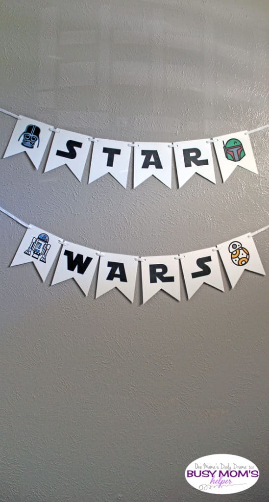 Free Printable Star Wars Banner | Star Wars Party Ideas