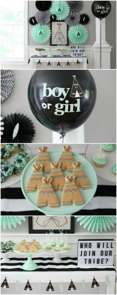 Christmas Gender Reveal Theme.27 Creative Gender Reveal Party Ideas Pretty My Party