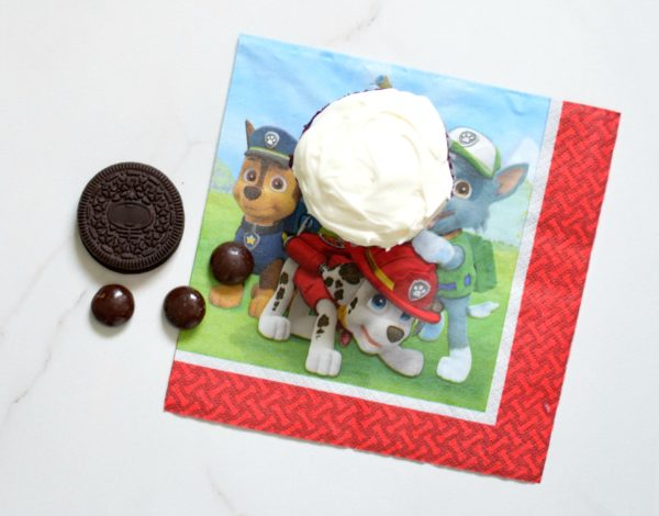 Easy Paw Patrol Cupcakes