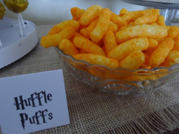 Huffle Puffs - Harry Potter Birthday Party