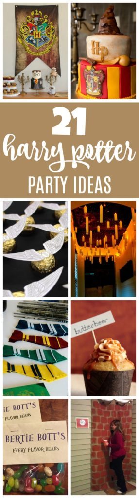21 Magical Harry Potter Birthday Party Ideas