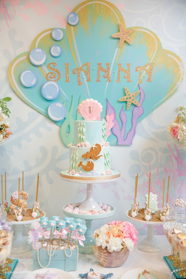 Magical Mermaid Sweets Table