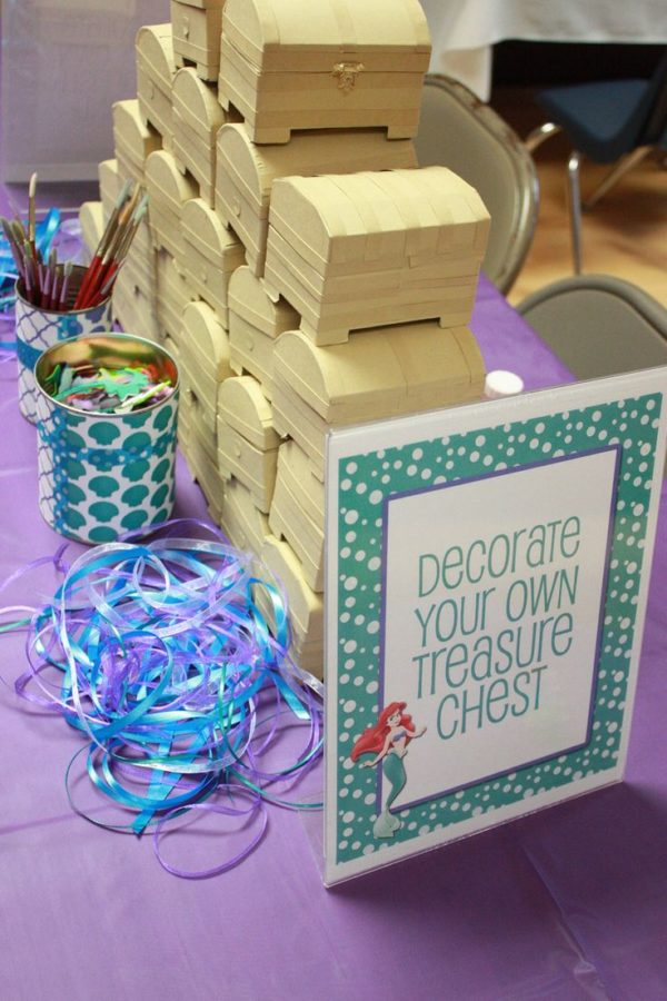 Mermaid Party Ideas | Decorate a Treasure Chest