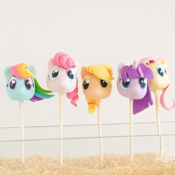 My Little Pony Cake Pops | My Little Pony Party Ideas