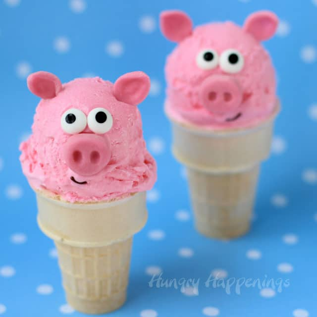 Peppa Pig Ice Cream Cones