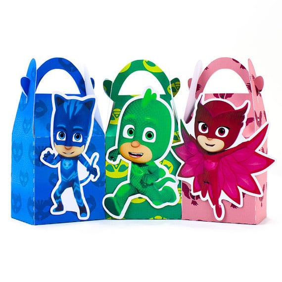 picture about Pj Mask Printable Template referred to as 13 Exciting PJ Masks Celebration Designs - Really My Celebration - Get together Designs