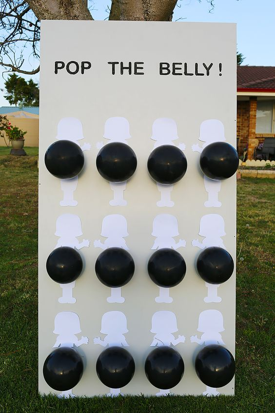 A Pop The Belly party game.