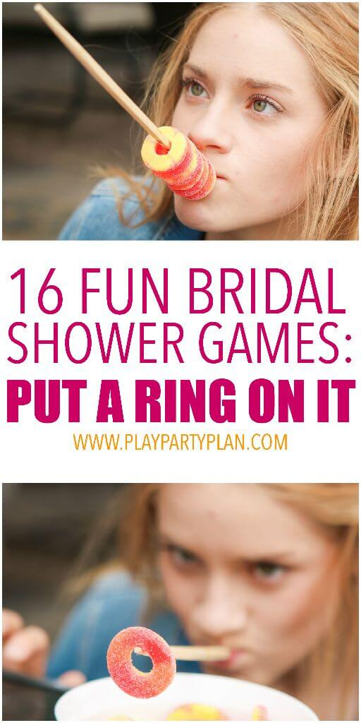 Put a Ring on It Game | Bachelorette Party Ideas
