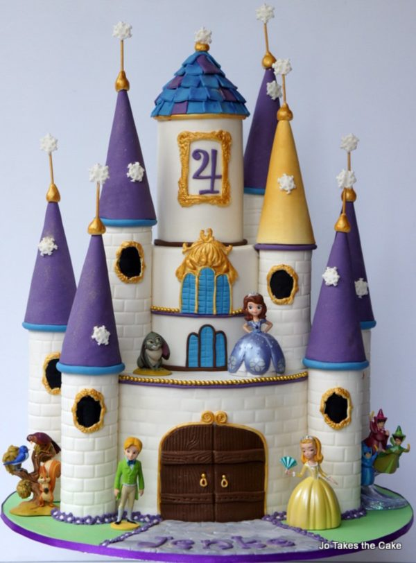Sofia the First Castle Cake | Sofia the First Party Ideas