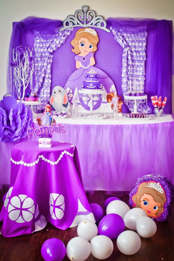 16 Sofia the First Birthday Party Ideas Pretty My Party