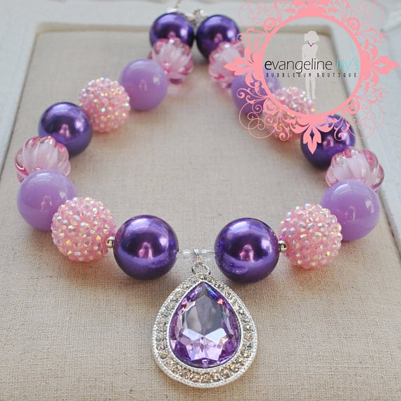 Sofia the First Necklace | Sofia the First Party Ideas
