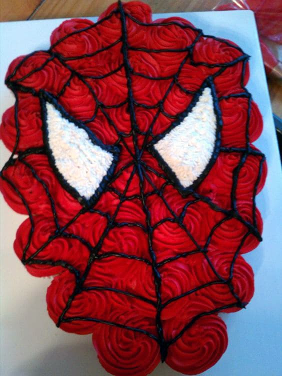 spiderman template for cake - 21 spiderman birthday party ideas pretty my party