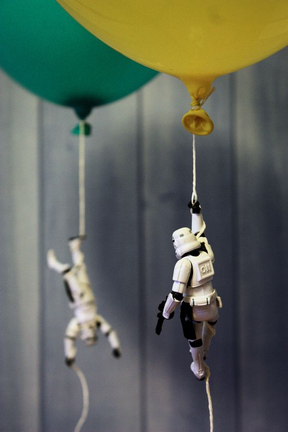 Star Wars Balloons - Star Wars Birthday Party