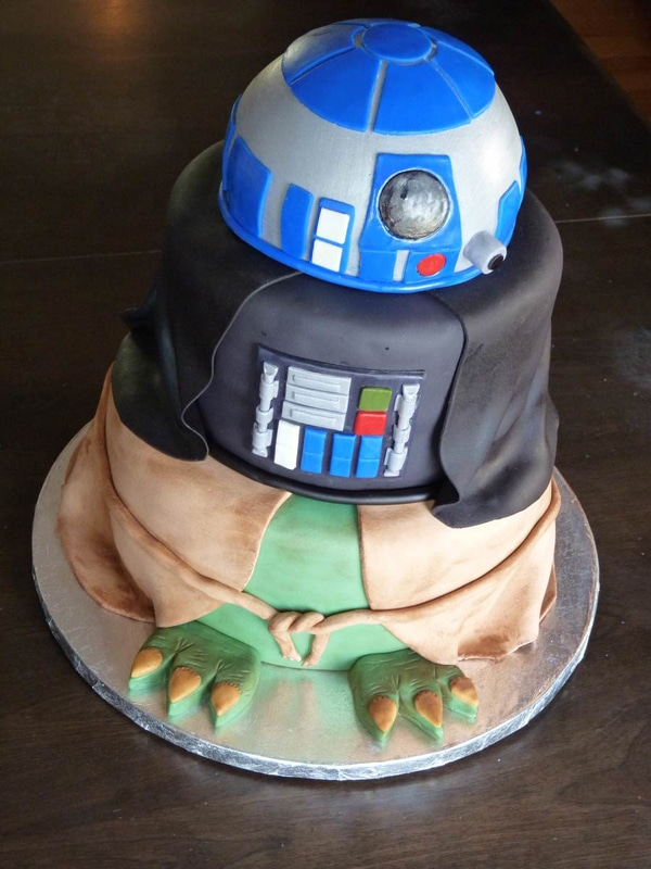Out of this World Star Wars Birthday Cake