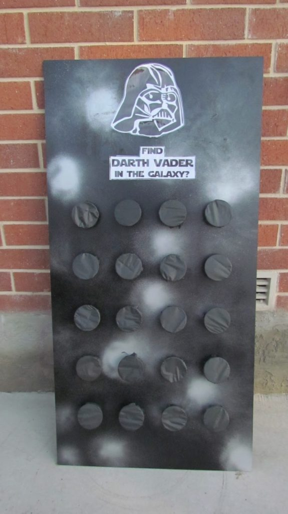 Star Wars Party Ideas | Find Darth Vader in the Galaxy Game