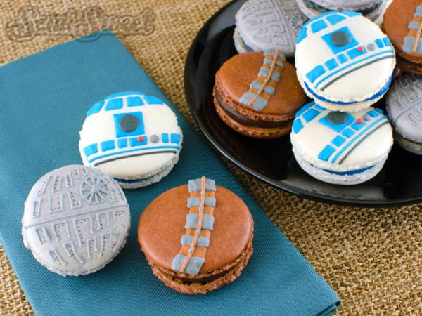 Star Wars Birthday Party - Star Wars Macaroons