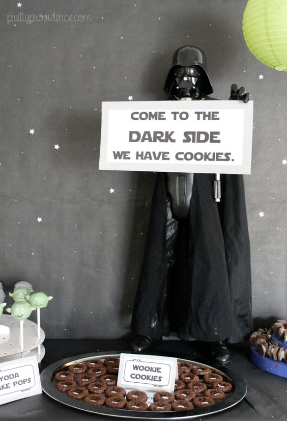 Come to the Dark Side Sign | Star Wars Birthday Party