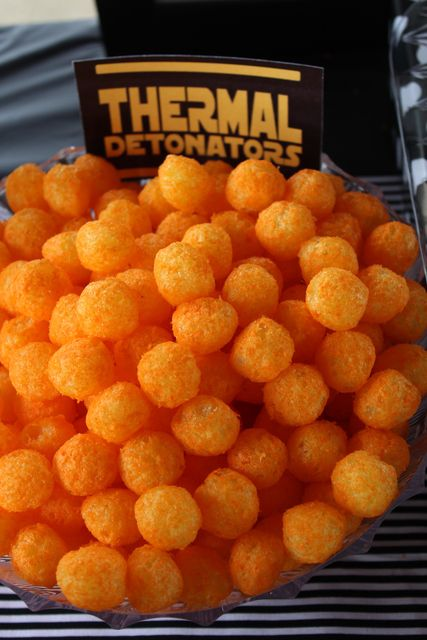Thermal Detonators - Star Wars Themed Party Food