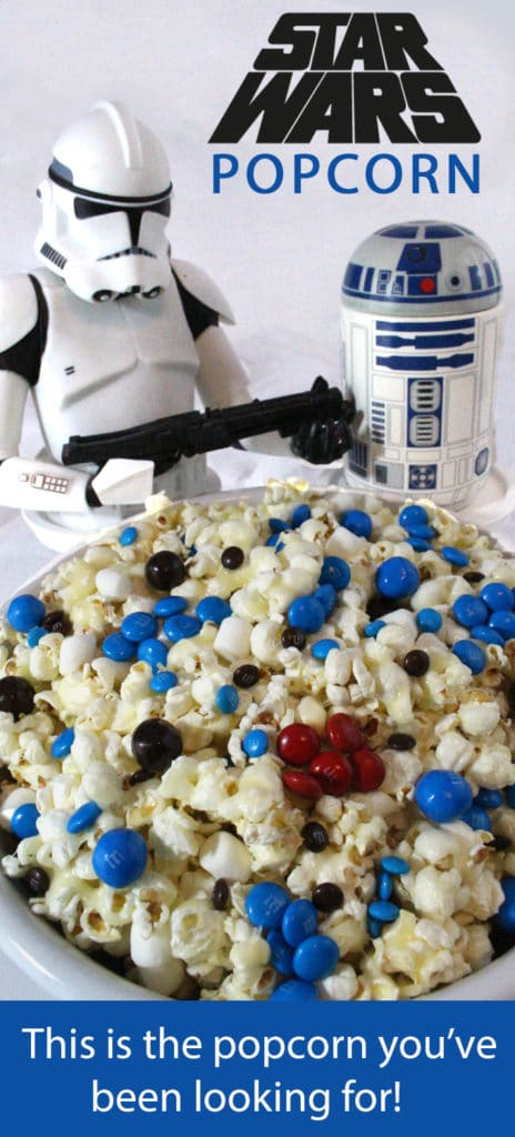 Popcorn - Star Wars Themed Party Food