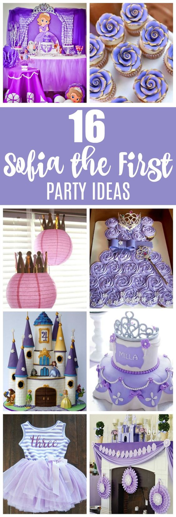 Brilliant 16 Sofia The First Birthday Party Ideas Pretty My Party Party Funny Birthday Cards Online Overcheapnameinfo