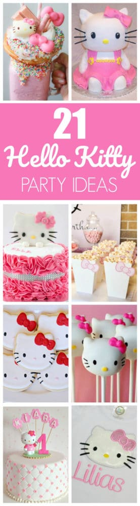 21 Hello Kitty Birthday Party Ideas Pretty My Party