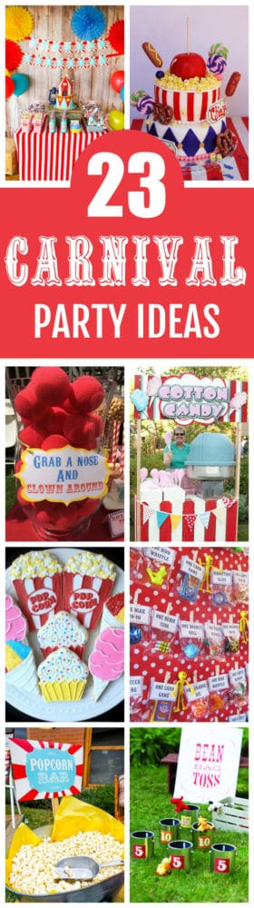 23 Incredible Carnival Party Ideas Carnival Theme Party