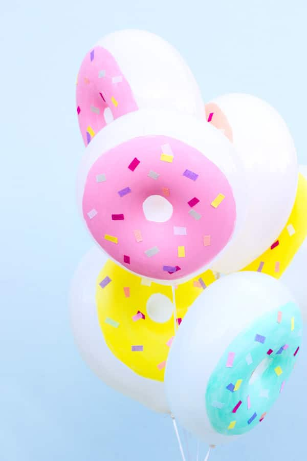 DIY Donut Balloons | Donut Party