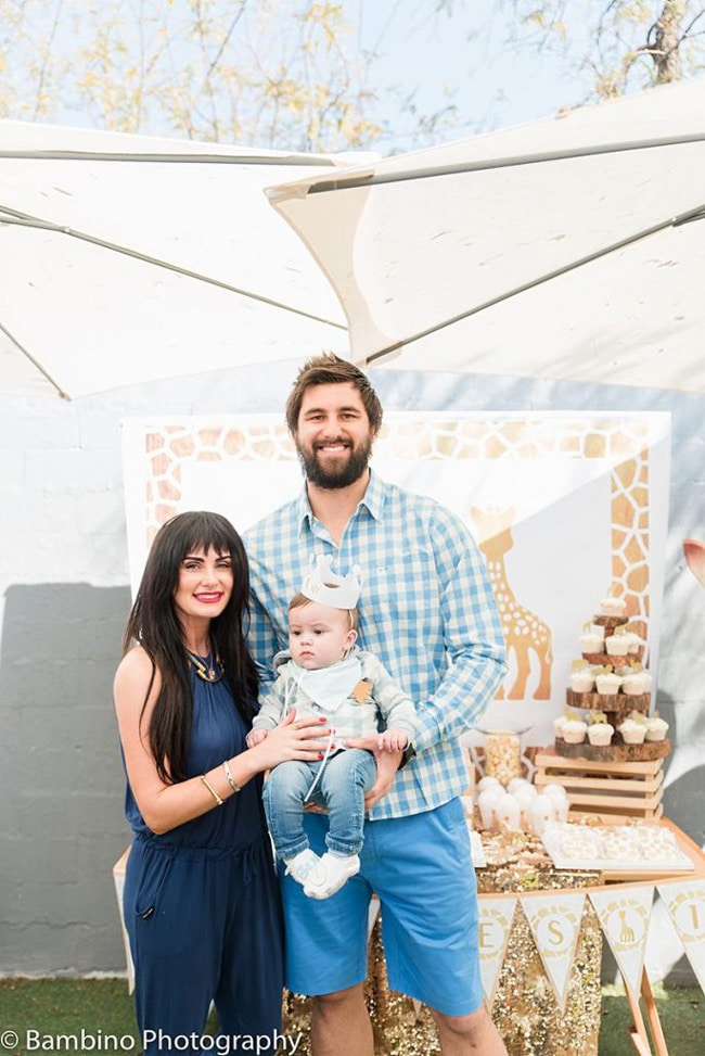 Sophie the Giraffe Inspired First Birthday Party featured on Pretty My Party