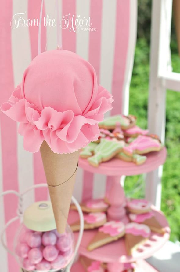 Ice Cream Cone Party Decoration | Ice Cream Party