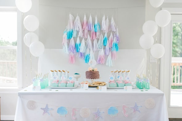 Magnificent Mermaid Themed Party