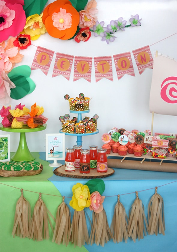Moana Birthday Celebration