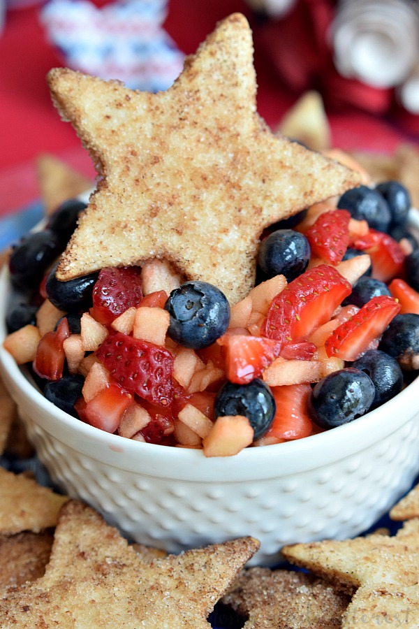 Summer Fruit Salsa | Labor Day Party Ideas
