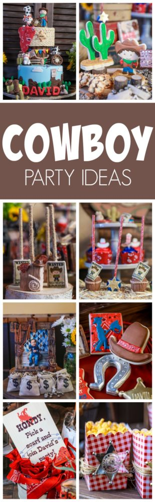 Amazing Cowboy First Birthday Party Pretty My Party