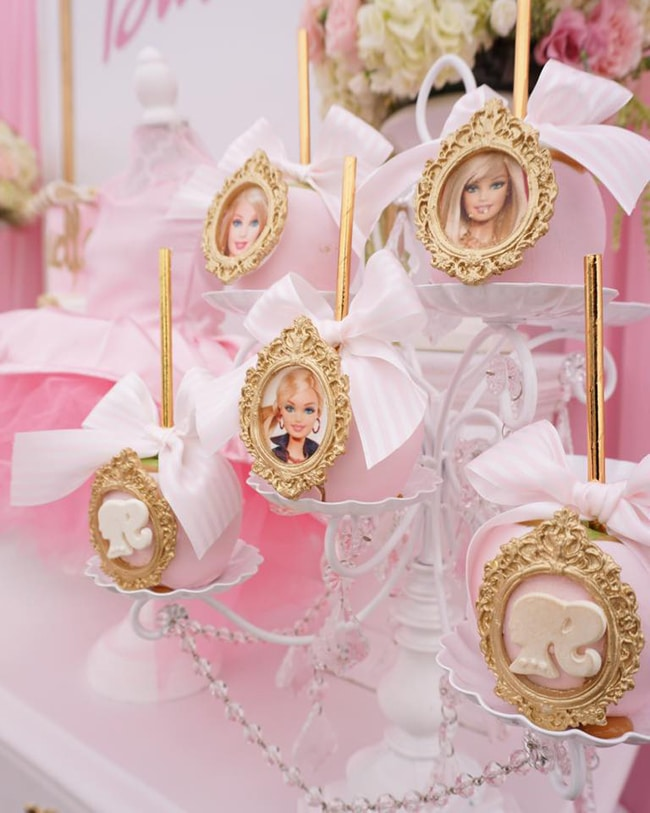 Pink Barbie Glam Birthday Party Pretty My Party Party