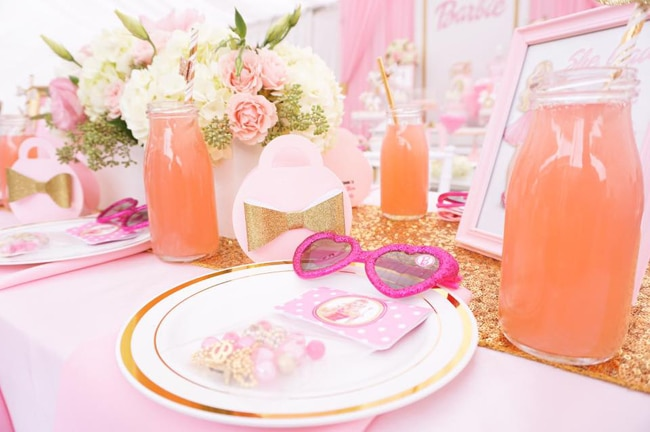 Barbie Glam Birthday Party featured on Pretty My Party