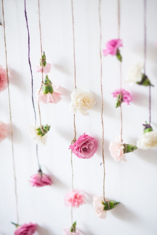 Boho Floral Decorations - Boho Chic Party Ideas