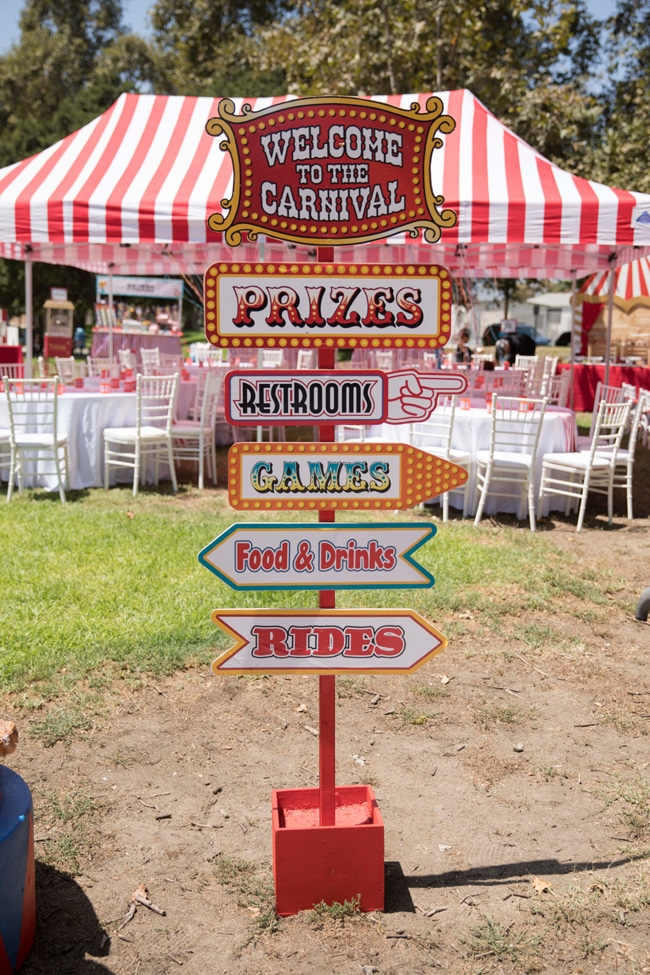 Whimsical Circus First Birthday Party