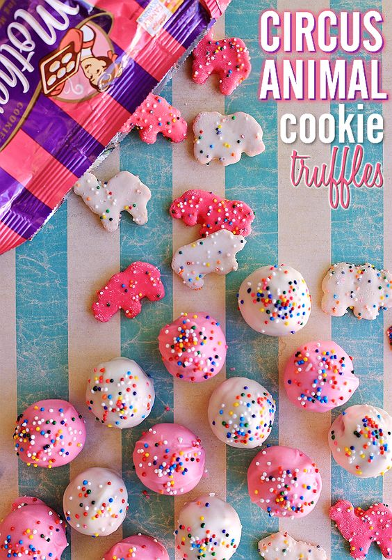 23 Circus Animal Cookie Party Ideas Pretty My Party