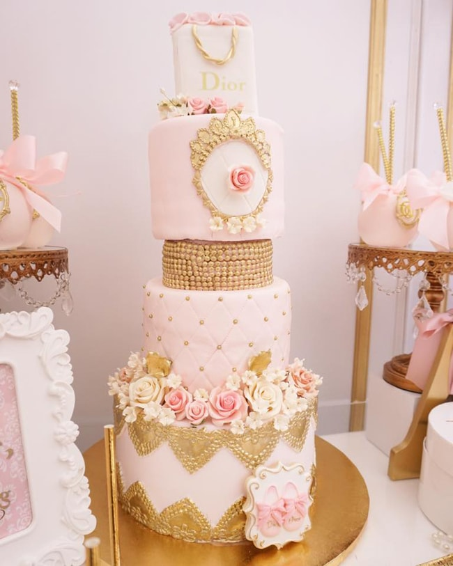 Diamonds And Dior Themed Birthday Party Pretty My Party Party Ideas
