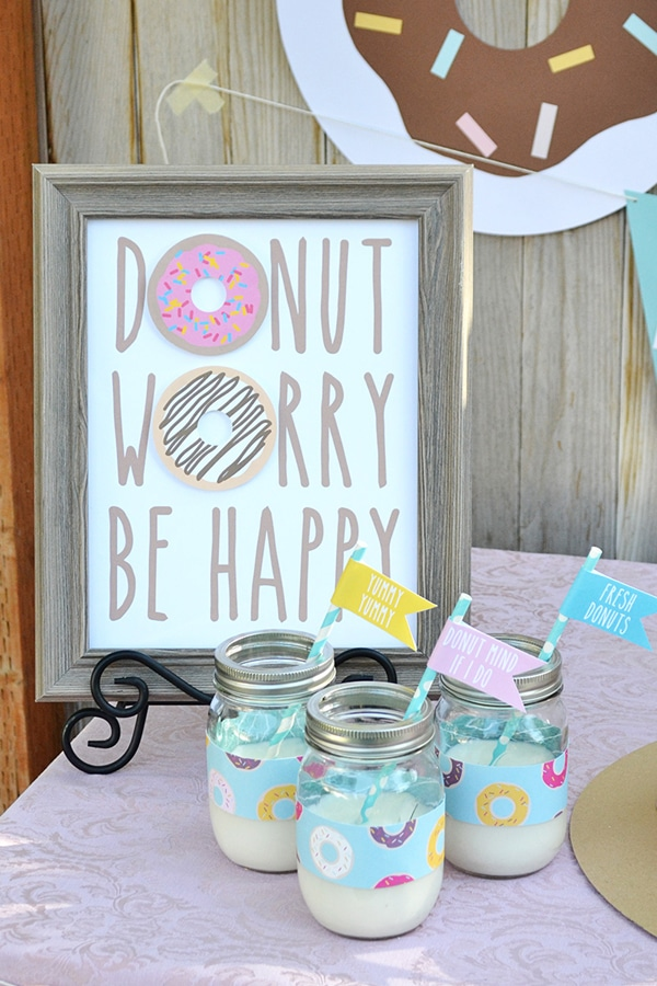 Donut Party Free Printables | Donut Themed Party Ideas