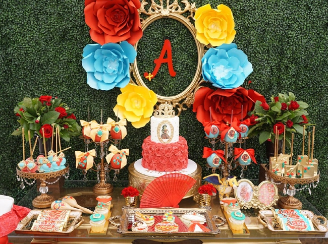 Elena Of Avalor Themed Birthday Party Featured On Pretty My