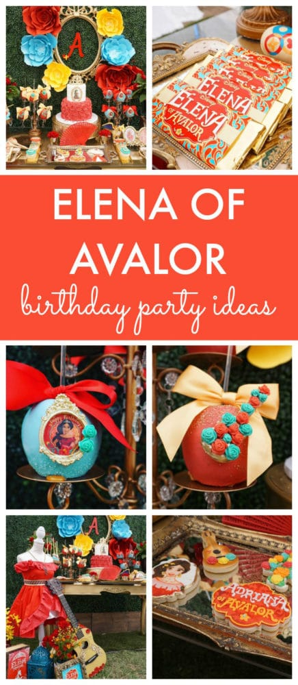 Elena of Avalor Themed Birthday Party featured on Pretty My Party