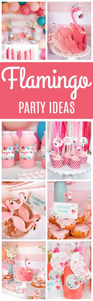 Fabulous Flamingo Birthday Party Featured On Pretty My